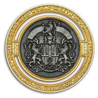 2020 GIGA Prague geocoin - Supporters Special Edition