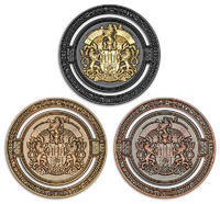 2020 GIGA Prague geocoin - set Limited Edition