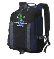 GPS MAZE Europe 2018 - trackable backpack blue