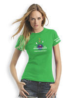 GPS MAZE Europe 2017 - Ladies trackable t-shirt - green