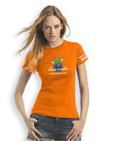 GPS MAZE Europe 2017 - Ladies trackable t-shirt - orange