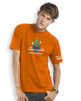 GPS MAZE Europe 2017 - Trackable t-shirt - orange