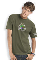 GPS MAZE Europe 2018 - Trackable t-shirt - khaki