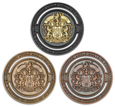 2020 GIGA Prague geocoin - set Limited Edition - 1