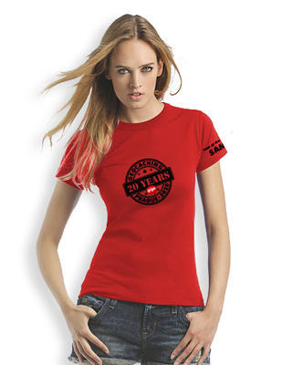 2020 GIGA Prague - Ladies trackable t-shirt - red - 1