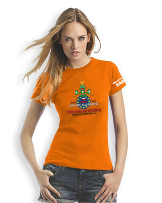 GPS MAZE Europe 2020 - Ladies trackable t-shirt - orange - 1