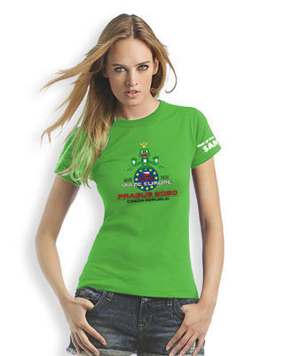 GPS MAZE Europe 2020 - Ladies trackable t-shirt - green