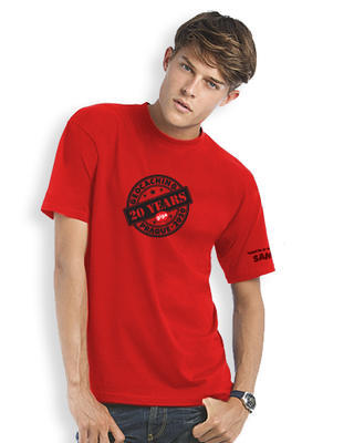 2020 GIGA Prague - Trackable t-shirt - red - 1