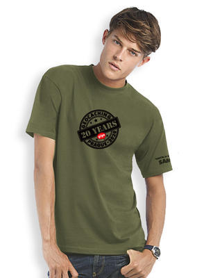 2020 GIGA Prague - Trackable t-shirt - khaki - 1