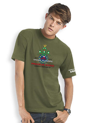GPS MAZE Europe 2020 - Trackable t-shirt - khaki - 1
