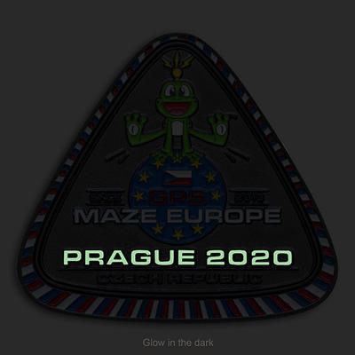 GPS MAZE Europe 2020 Geocoin - Supporters Special Edition - 2