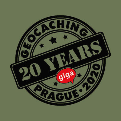 2020 GIGA Prague - Trackable t-shirt - khaki - 2