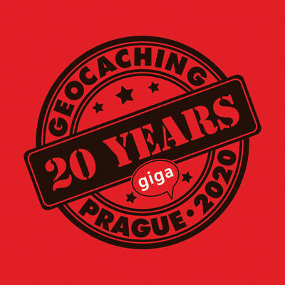 2020 GIGA Prague - Trackable t-shirt - red - 2
