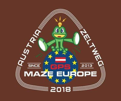 GPS MAZE Europe 2018 - Ladies trackable t-shirt - brown - 2